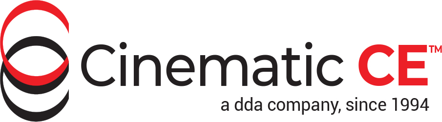 Cinematic CE, a dda company, since 1994